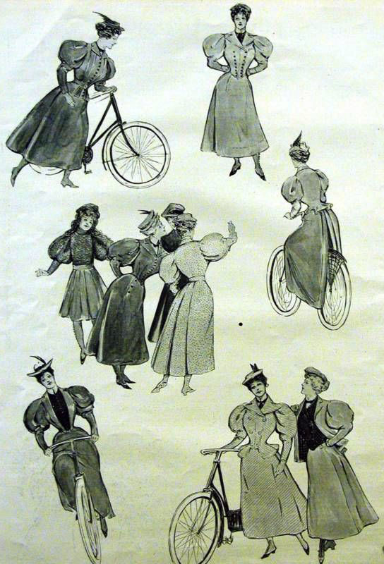 1890s cycling