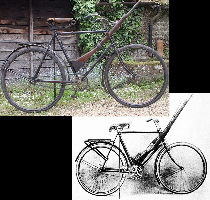 1908 RALEIGH MILITARY MODEL