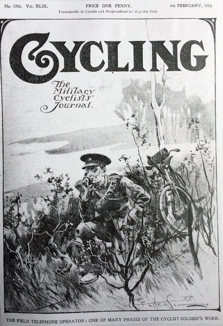 field telephone cyclist ww1 copy