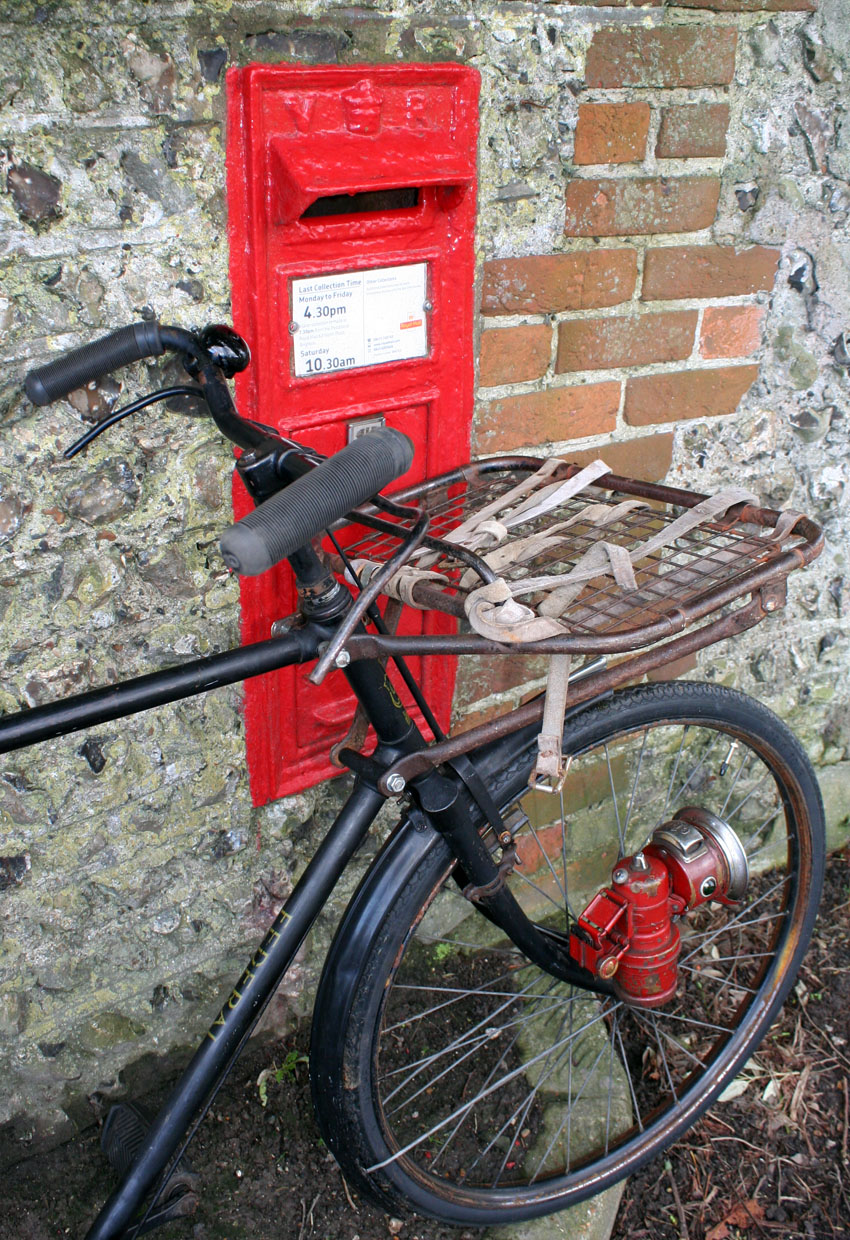 Cws Post Office Bicycle