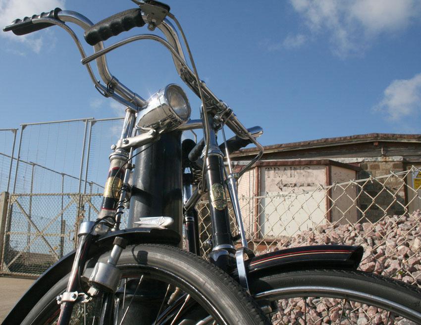 Vintage Bohne Fahrrad