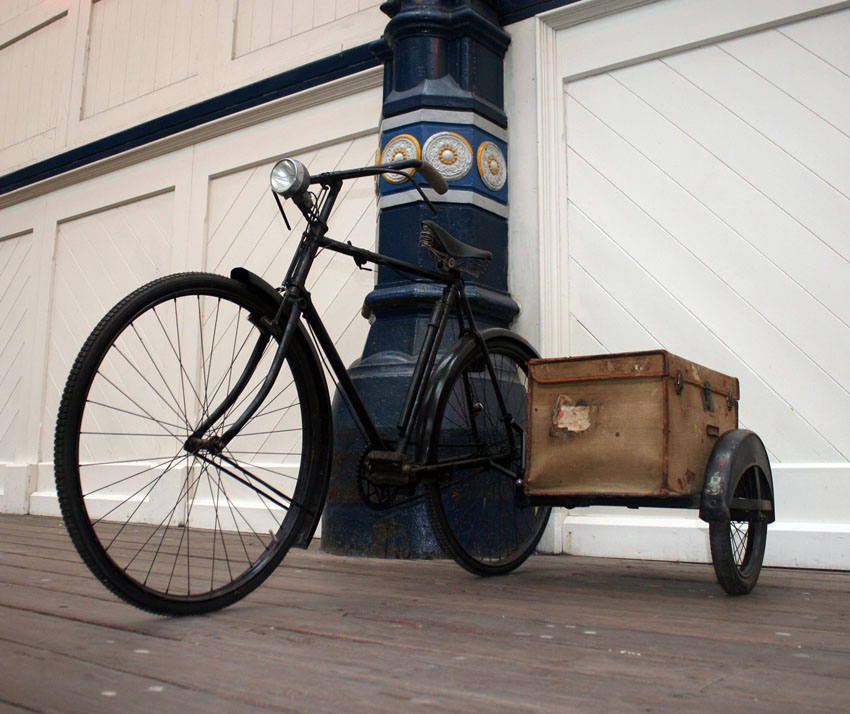 1933 Raleigh Popular All-Weather Gents Bicycle with Watsonian
