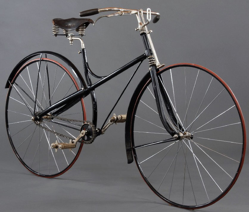 Early Safety Bicycle, c. 1890 from the Museum of Science and ...