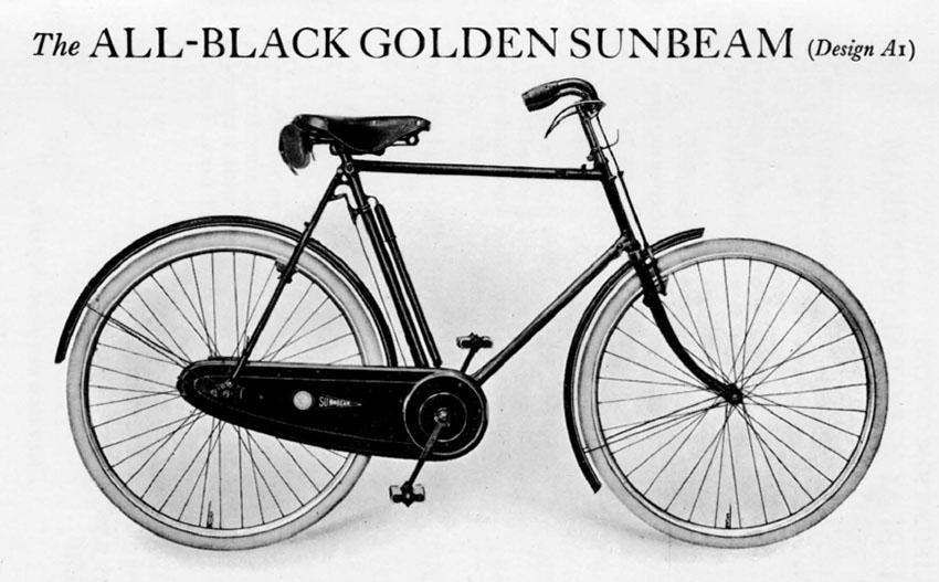 1924 golden sunbeam 7