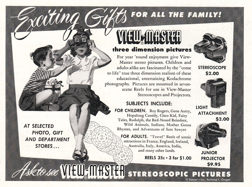 1950s view master