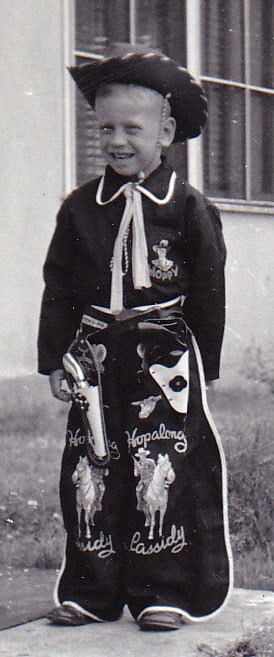 HOPALONG CASSIDY cowboy outfit