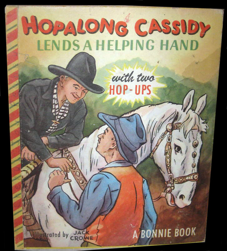 hoppy pop-up book 1950s