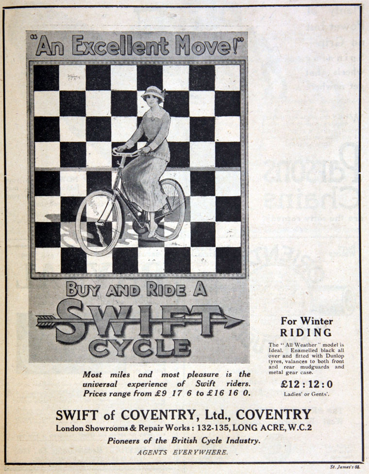swift cycle co long acre