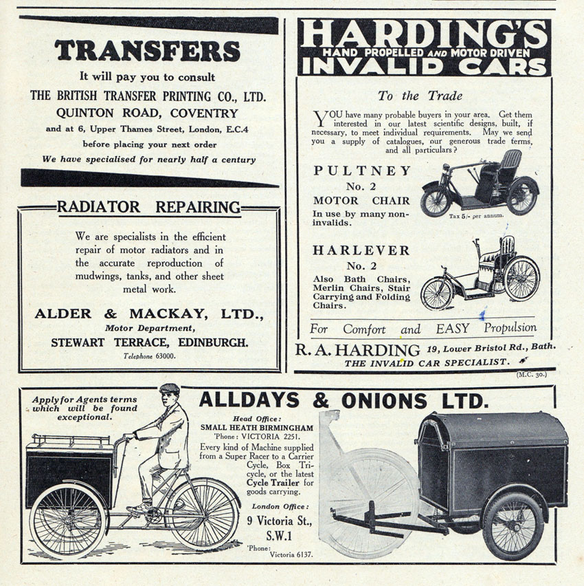 alldays harding ads copy