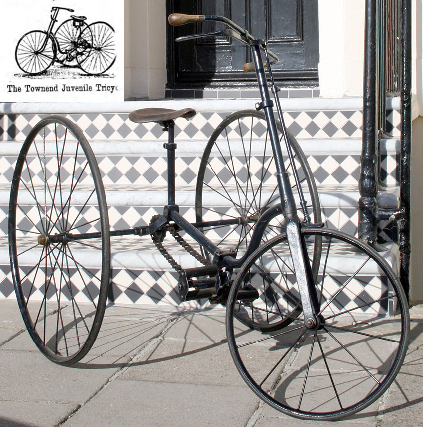 1888 Townend Juvenile Tricycle