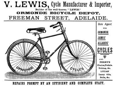 1893 ormonde australia