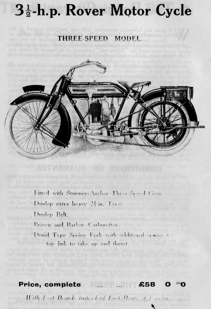Image result for Rover motorcycles