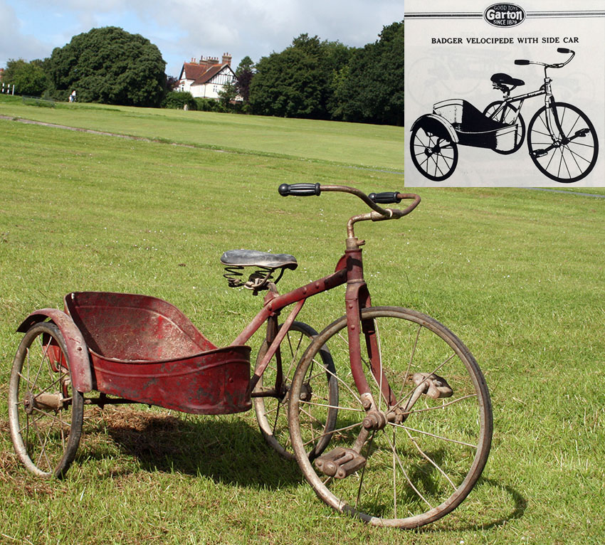 1927 Badger Velocipede with Sidecar 04 copy4