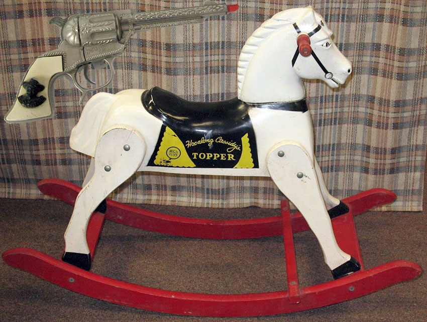 1950s-Hopalong-Cassidy-Topper-Rocking-Horse-Rich-Toys-Inc-1 copy