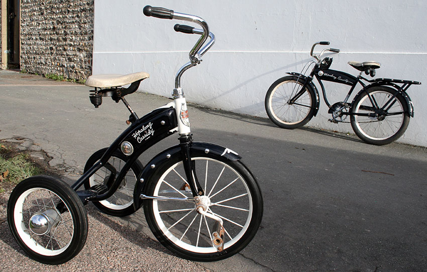 1952 Hopalong Cassidy Velocipede Tricycle 03