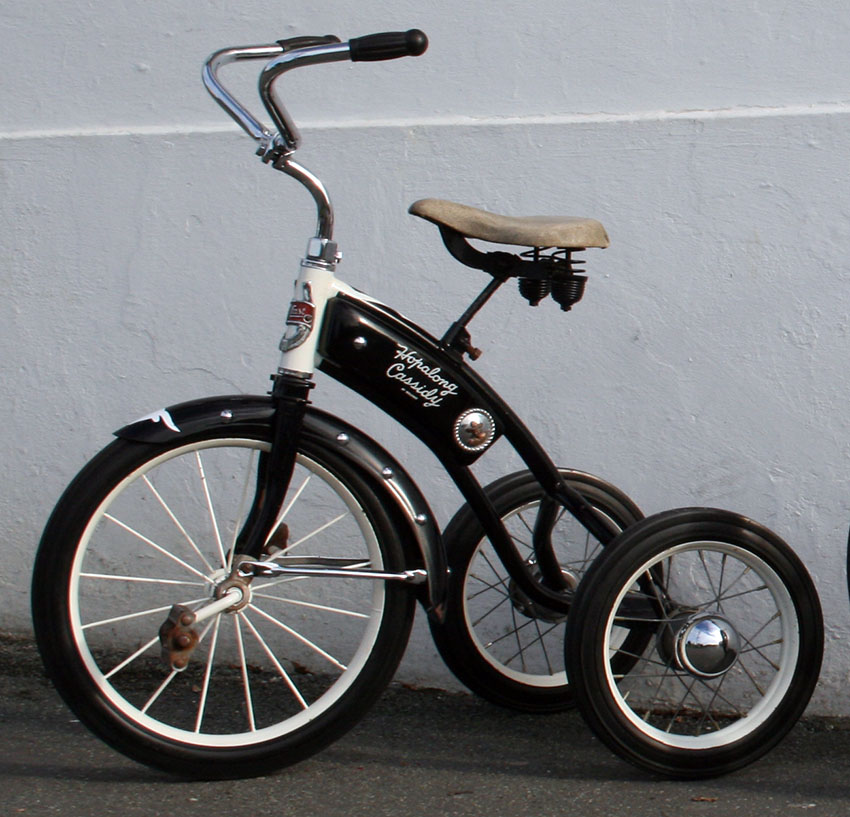 1952 Hopalong Cassidy Velocipede Tricycle 40