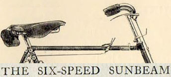 Six Speed Sunbeam logo