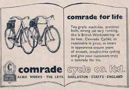 comrade cycles