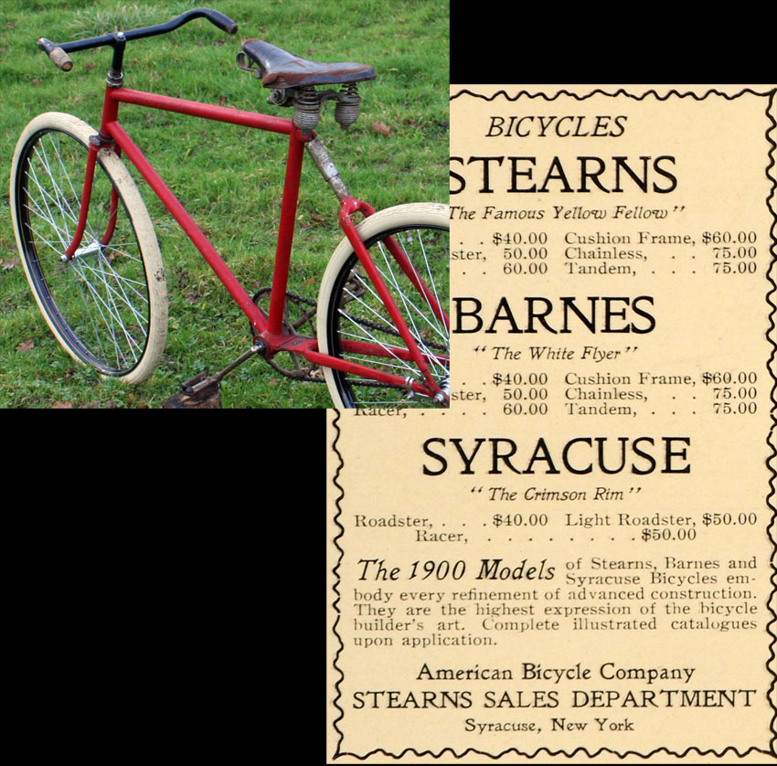 1900 barnes cushion frame