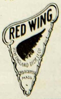 1917 red wing bicycle