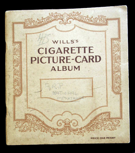 1938 Wills Cigarette Cards Album ARP