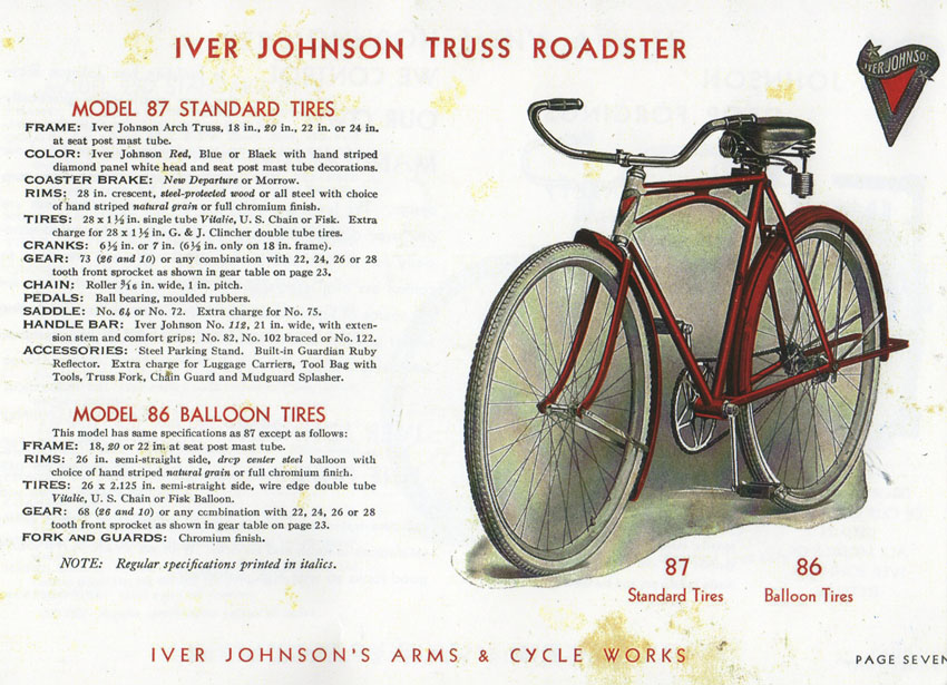 IVER JOHNSON TRUSS ROADSTER