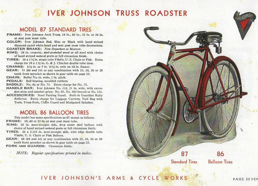 IVER JOHNSON TRUSS ROADSTER