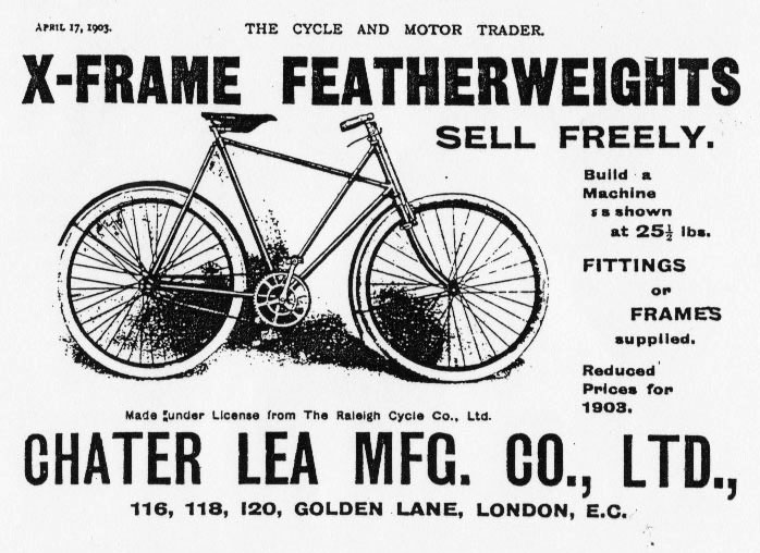 chater lea cross frame 1903