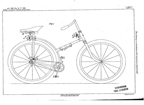 1897 1914 Peugeot Captain Gerard Folding Bicycle The Online