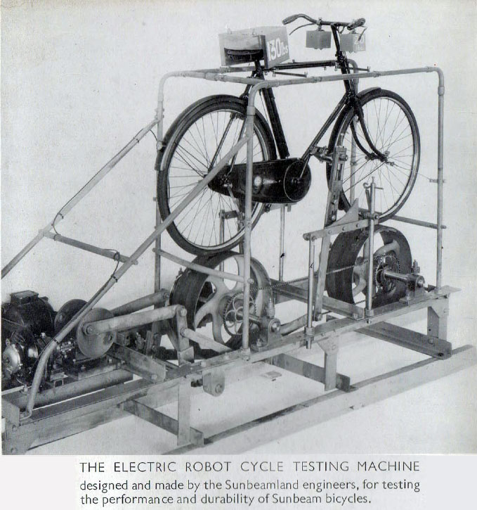 sunbeam testing machine