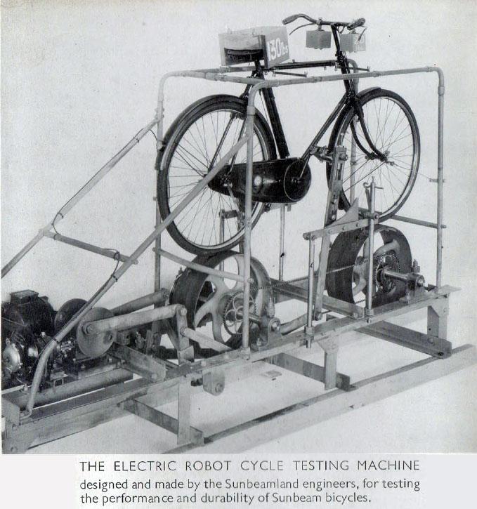 sunbeam testing machine