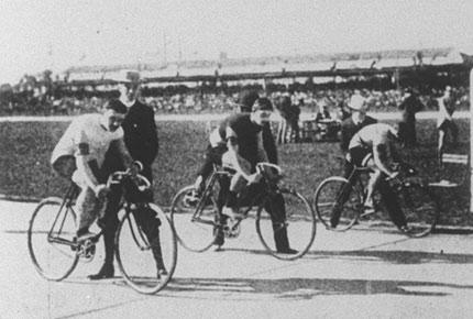 1900 CYCLE RACE PARIS EXPOSITION