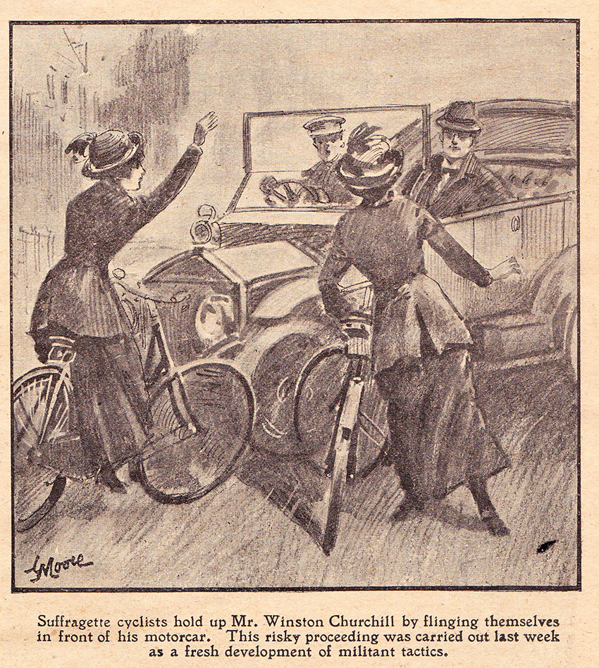 suffragettes 1912