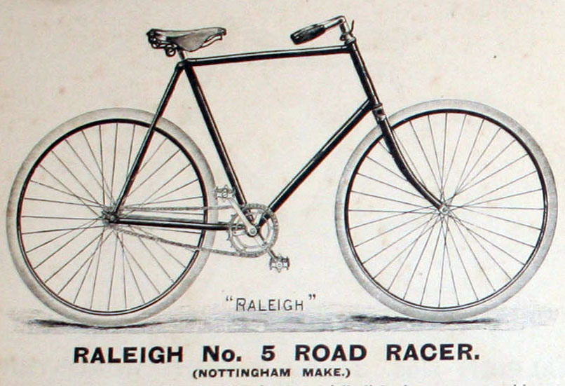 1896 raleigh no 5 road racer