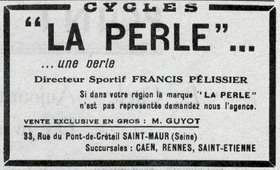 1949 la Perle advert