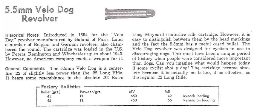 Velo Dog Revolver 001