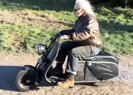 youtube video swallow gadabout scooter