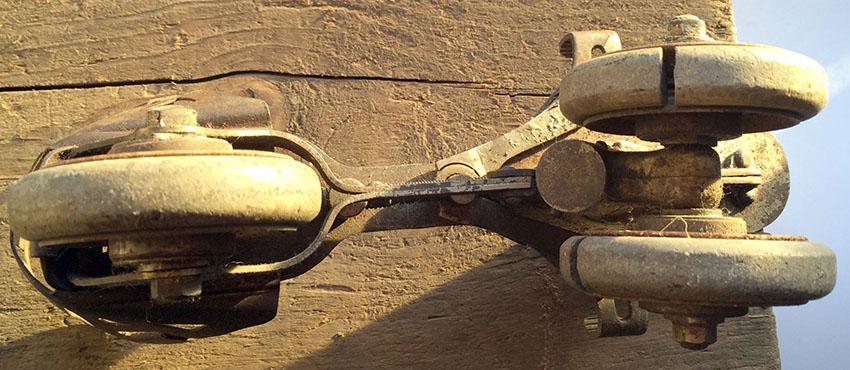 1897 Daniels FOOT CYCLE Roller Skate 30