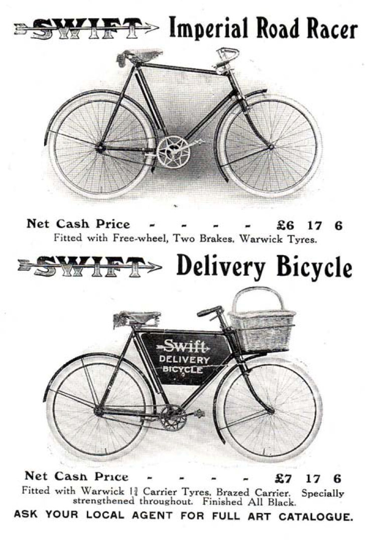 1915 swift imperial road racer