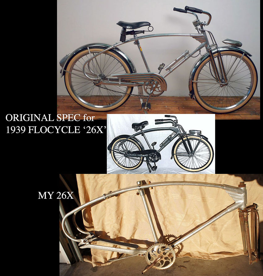 1939 Monark Silver King Flocycle 26X