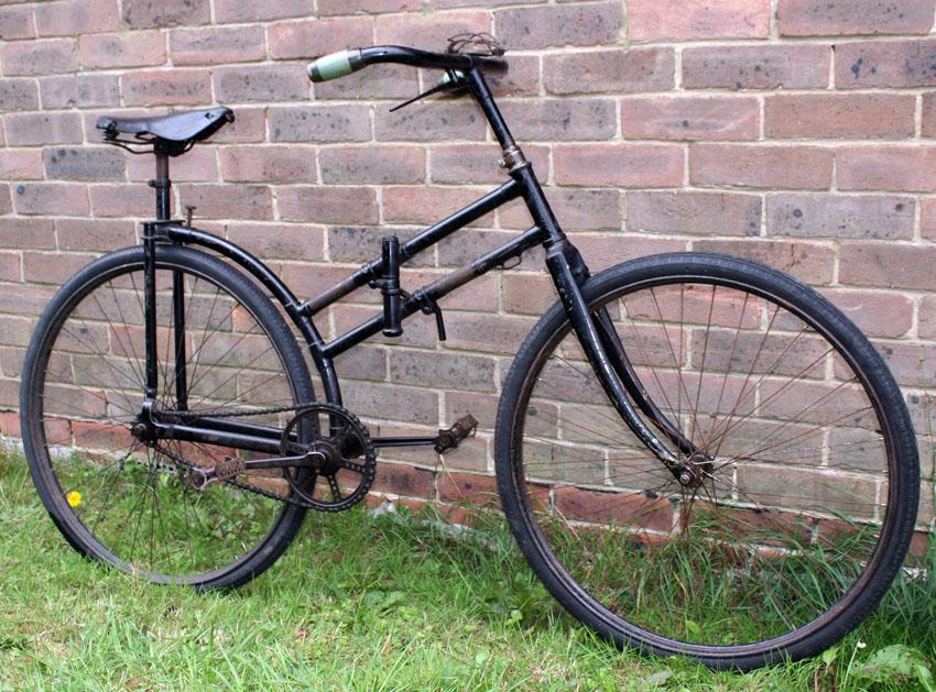 1901 La Bicyclette Pliante Peugeot Et Portative System Du