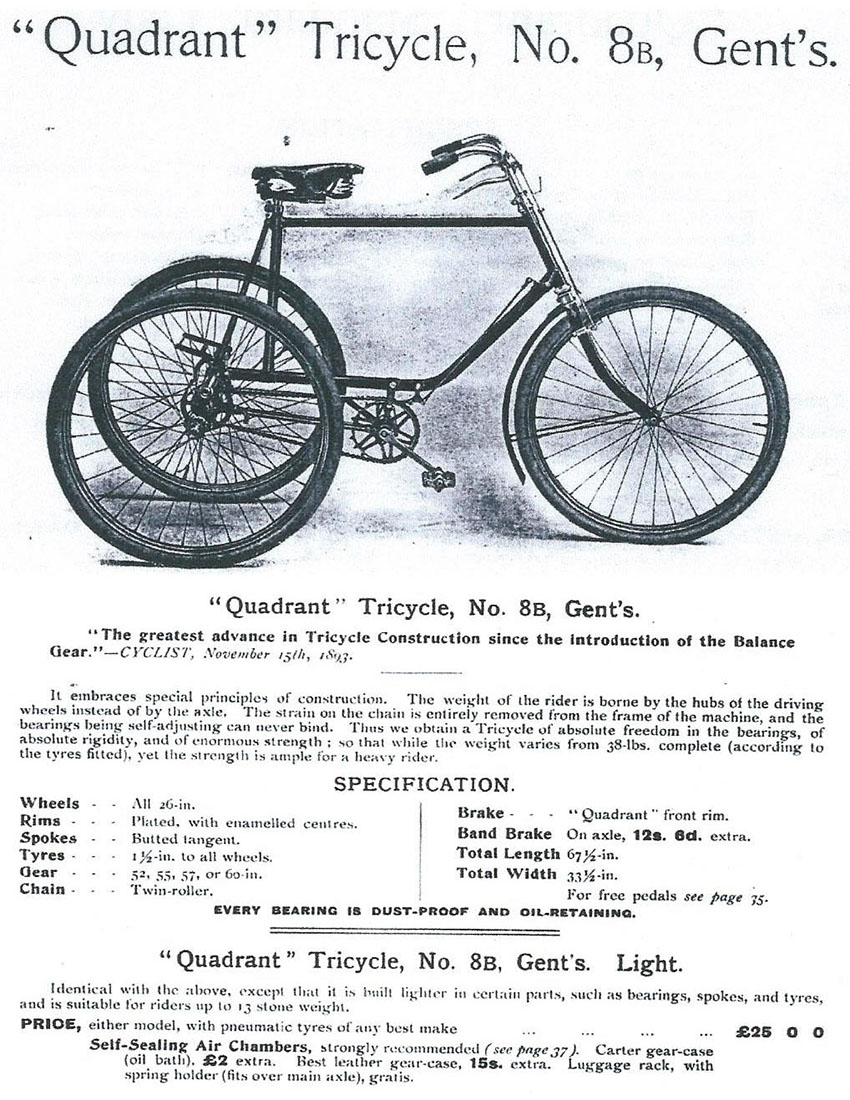1901 Quadrant catalogue