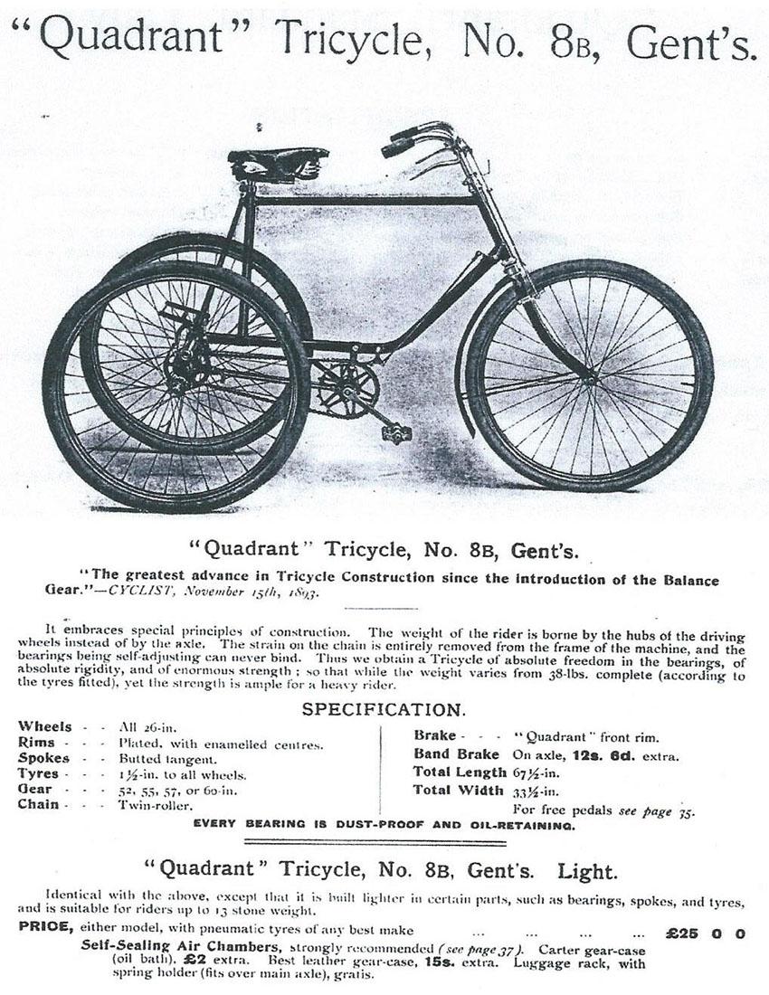 1901 Quadrant catalogue