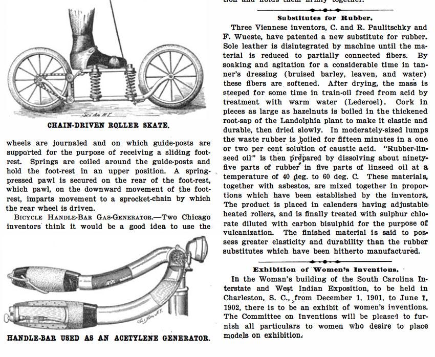 1901 chain driven roller skates 1