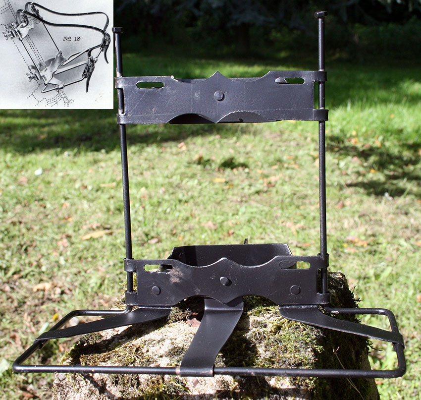Boer War WW1 Lucas Cycloe Front Carrier Rack