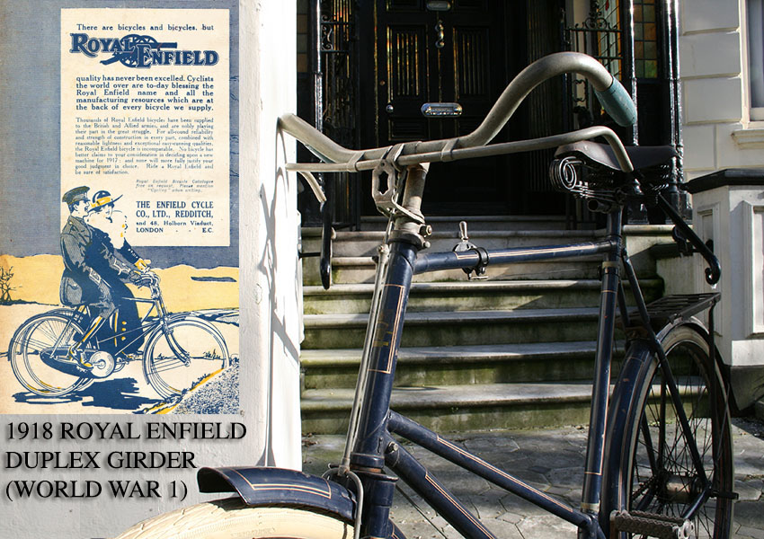 Royal Enfield Duplex Girder WW1