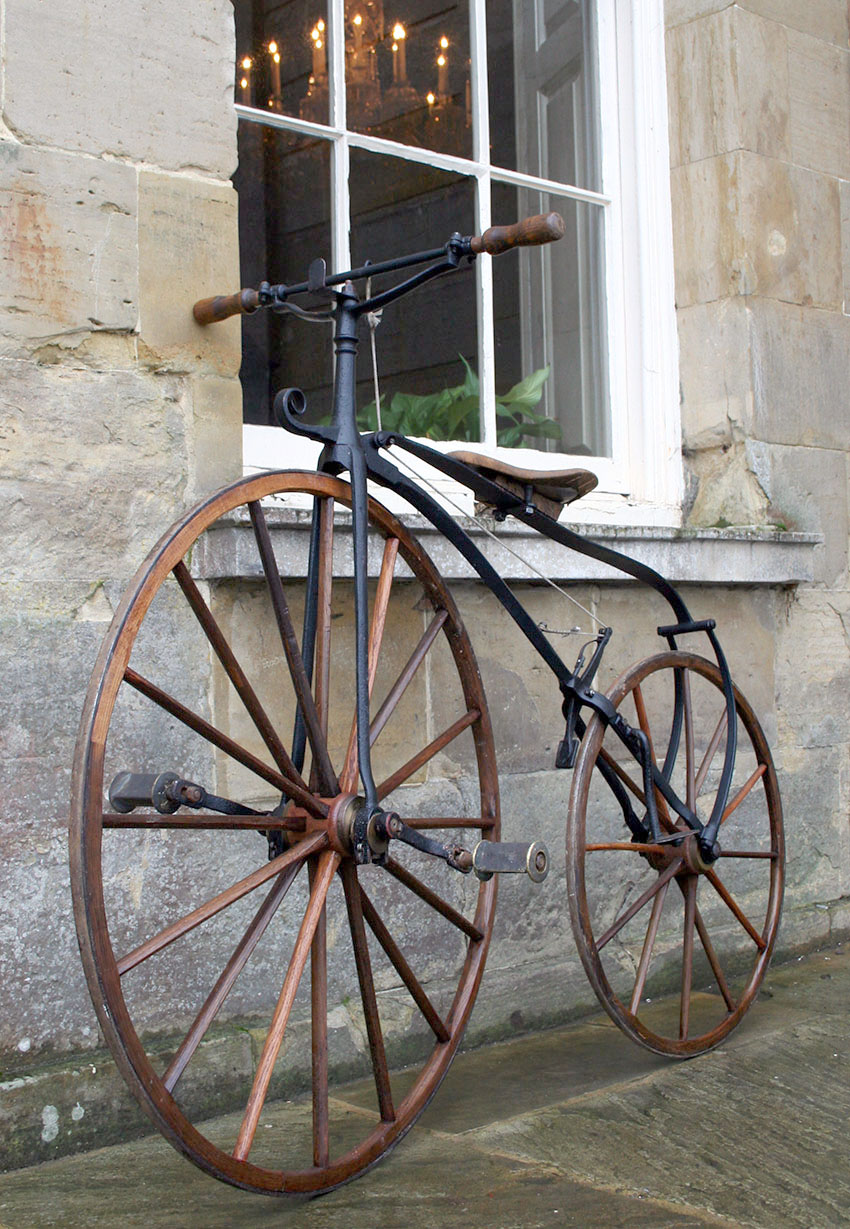 1870 Transitional Velocipede 15