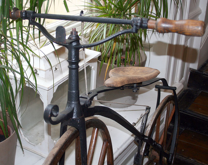 1870 Transitional Velocipede 3