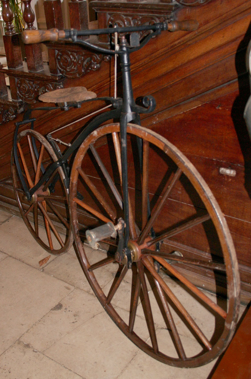 1870 Transitional Velocipede 6