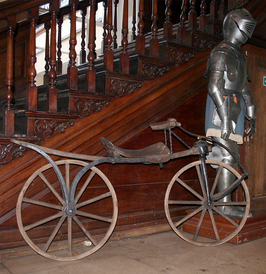 Ice Skates For Sale >> 1819 Hobby Horse Replica | The Online Bicycle Museum